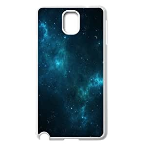 Deep Blue Space Samsung Galaxy Note 3 Cases, Luxury Case for Samsung Galaxy Note 3 Protection Pharrel - White