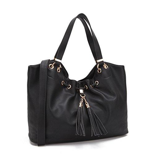 Tote 2866 Hobo Black Handbag~Top Beautiful MKP Handbag~Fashion Handle Shoulder Collection Purse~Top Designer qZvnUzf