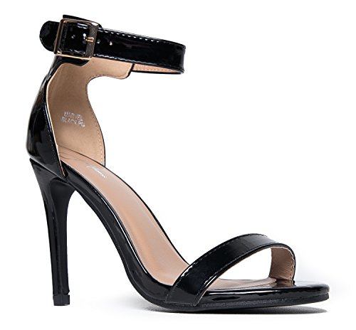 J. Adams Ankle Strap High Heel Strappy Sandal - Dress Wedding Shoe - Sexy Comfortable Pump - Marvel by