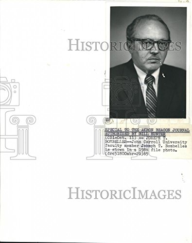 - Vintage Photos Historic Images Press Photo John Carroll University Faculty Member Josepg Bombelles - 10 x 8 in