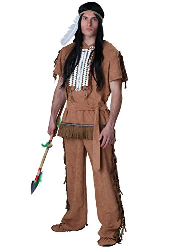 Indian Halloween Costumes For Men (Indian Warrior Costume Large)