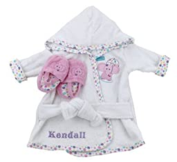 Personalized Baby Bath Robe