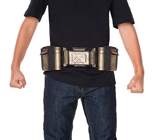Rubie's Costume Boys Justice League Batman Belt Costume, One Size (Kids Superhero Belt)
