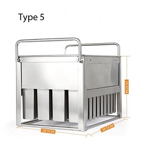 40pieces Stainless Steel Ice Cream Molds ice pop molds with stick holder Food Class 6 different size for you to select by Ykchanger (Image #6)