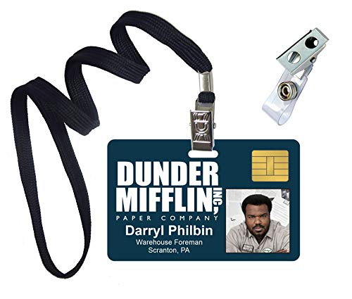 Darryl Philbin, The Office, Novelty ID Badge Film Prop for Costume and Cosplay • Halloween and Party Accessories -
