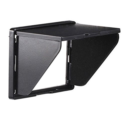 "Camera LCD Screen Sun Hood Sunshade for 3"" Camera LCD Canon 5D, 6D, 7D, 50D, 60D, 500D, 550D, T3i, T4i, Nikon D3400, D3300, D3200, D5100, D5200, D300 from UFPhoto"