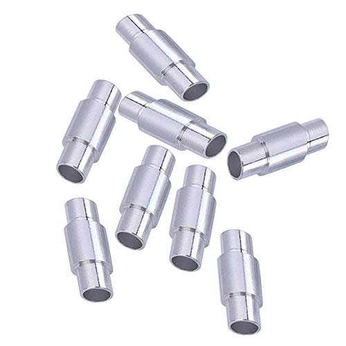 Newsfana Inline Rollerblade Axle Aluminum Speed Spacer 8-Pack Spacers for 6mm Axles (Silver) (Inline Skate Wheel Spacer)