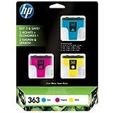 HP N ° 363couleur valeur Lot