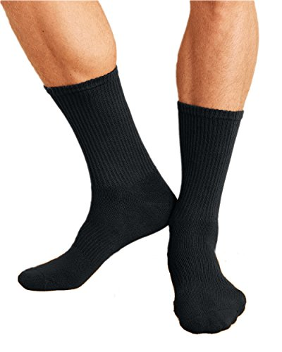 Gildan Accessories Platinum Crew Socks GP751 -BLACK OS