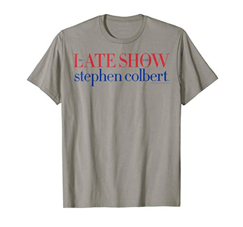 The Late Show with Stephen Colbert Bold Text Graphic T-Shirt (The Late Show With Stephen Colbert Network)