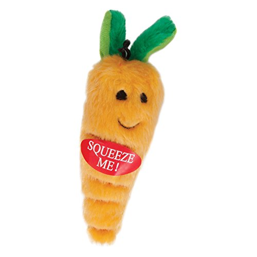 ASPEN PET PLUSH MEDIUM CARROT