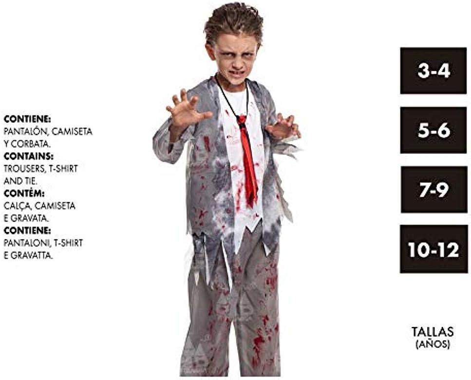 Disfraz de Zombie Colegial para niño 10-12 Años: Amazon.es: Ropa y ...