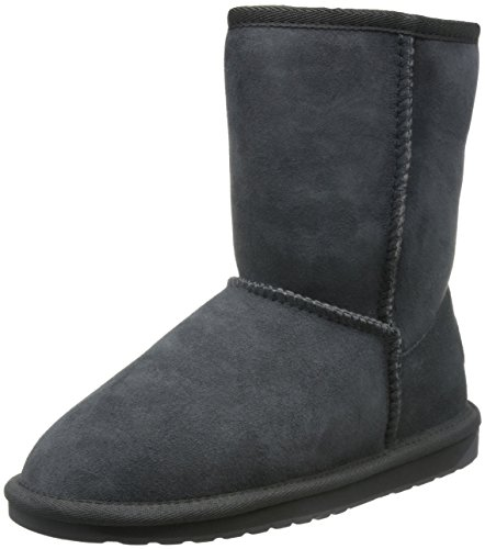 EMU Australia Women's Stinger Lo Mid-Calf Boot,Charcoal,8 M