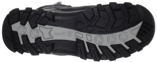 Kamik RevelG WK2105 - Botas de nieve de cuero para mujer Negro