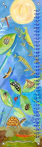 Oopsy Daisy, Fine Art for Kids PE2900 Growth Chart Backyard Bugs Growth Chart ()