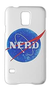 Nasa Funny Logo Nerd Samsung Galaxy S5 Plastic Case
