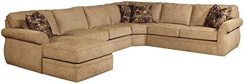 Broyhill Veronica Sectional Sofa with Left Arm Facing Chaise (Sofas Sectional Broyhill)