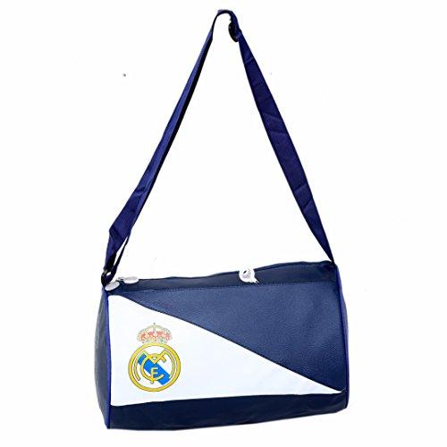Kuber Industriestm pelle morbida 12litri borsa da palestra (blu e bianco)–KI19110