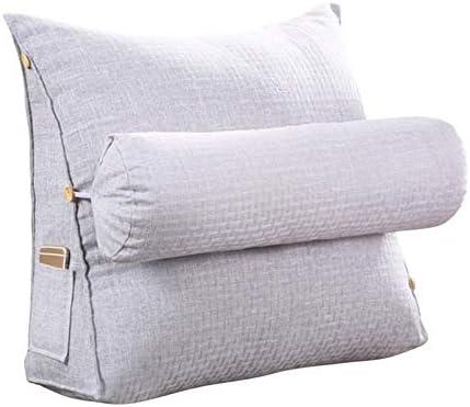 Gentlecarin Almohada para respaldo de cama, almohada para sofá ...