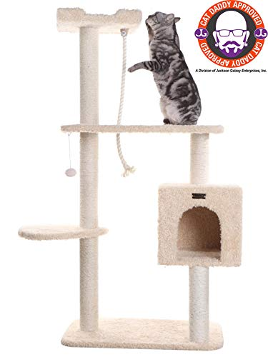 Armarkat A5708 Pet Cat Tree, Beige