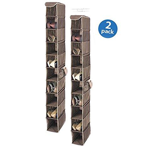 Whitmor 6351-1229-Java Java Hanging Shoe Shelves