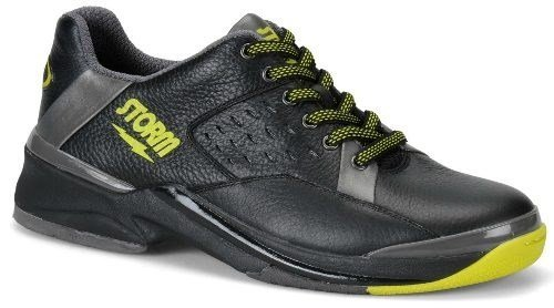 Storm Men's SP 700 Left Hand Bowling Shoes, Black/Yellow, (Left Hand Bowling Shoes)