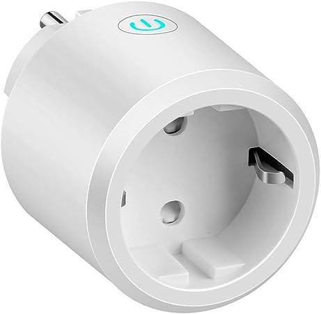 Etersky Alexa Enchufe Inal/ámbrico 10 A Wifi Enchufes Inteligentes Compatible con Alexa y Google Home con Temporizador 2.4GHz Wifi Smart Plug Control Remoto por APP 4 Pack Smart Life