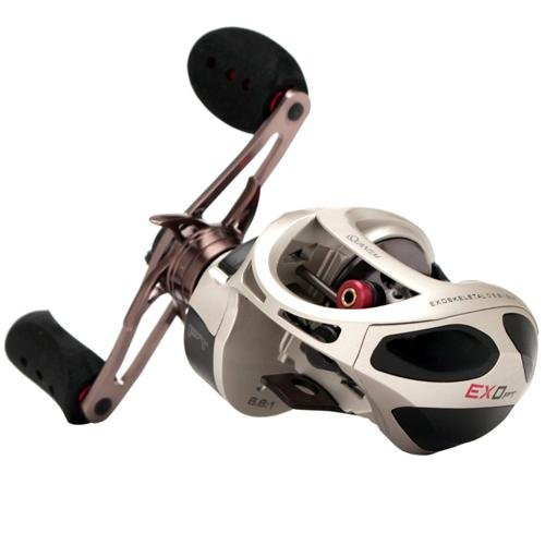 Quantum Fishing Exo Pt 11 Bearing Baitcast Reel (Right, 1...