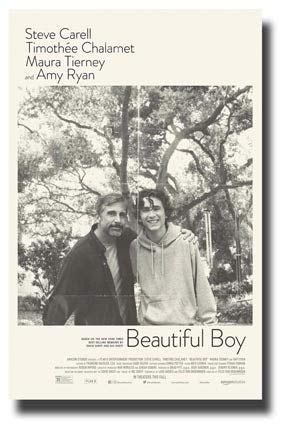 (Beautiful Boy Poster Movie Promo 11 x 17 inches Steve Carell Timothee Chalamet Main)