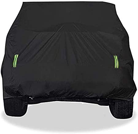 FZWAI autoplane Fahrzeugabdeckungen wasserdichte Car Cover SUV Thick Oxford Cloth Sonnenschutz Regenschutz Warm Auto-Abdeckung for Land Rover Range Rover Velar Modelle Car Cover Auto abdeckplane