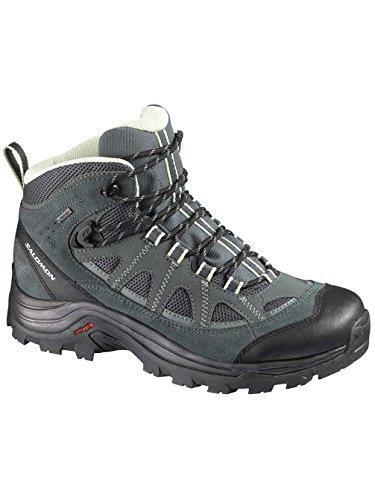 randonnée Trekking Femmes Authentic Tt Chaussures Greentea LTR Tt Salomon GTX de Vert et Dark WwUf101qXn