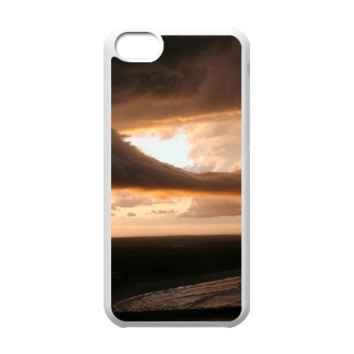 SYYCH Phone case Of Crimson Clouds 2 Cover Case For Iphone 5C
