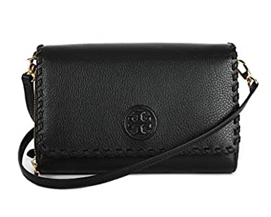 Tory burch marion flat wallet crossbody bag black one for Tory burch jewelry amazon