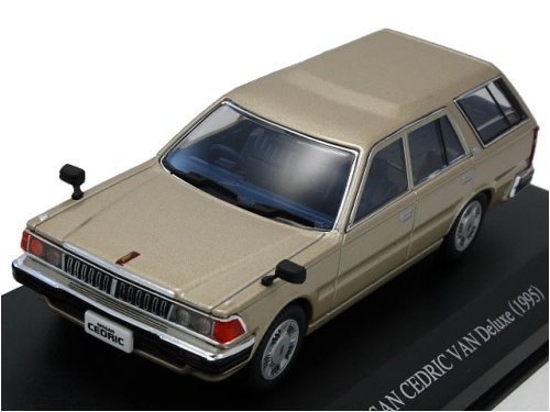 1/43 Y30 セドリックバン 後期型 Deluxe (イエロイッシュシルバー) 0077139