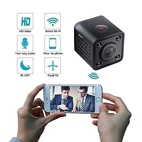 Mini cámara espía WiFi Spy CAM Oculta inalámbrica con la visión Nocturna de detección de Movimiento