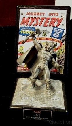 Thor Marvel Silver Age Fine Pewter Series No 2 Comic Book Champions #10000