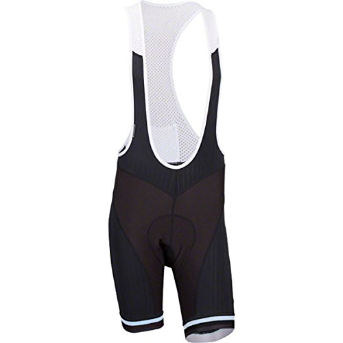 Bellwether Men's Forza Cycling Bib White SM by Bellwether
