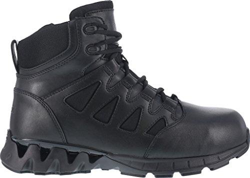 Zapatillas Reebok Work Para Hombre Zigkick Rb8631 Tactical 6, Cuero Negro, Us 12 W