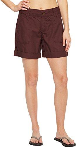 Carhartt Women's Original Fit El Paso Shorts, Deep Wine, - Shopping Paso El