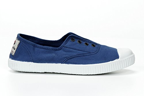 Victoria Womens Canvas Inglesa Elastico Moda Sneakers Made In Spagna Francia