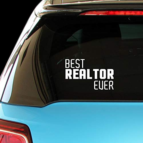 PressFans - Best Realtor Ever Car Laptop Wall Sticker
