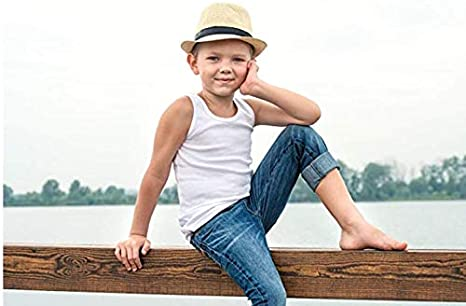 The B-Style TB Baby Boys Girls Cotton Tank Top Toddler Super Soft Undershirts