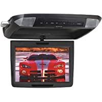 POWER ACOUSTIK PMD-112CMX 11.2inin Widescreen Ceiling-Mount Monitor with DVD Player & Interchangeable Skins