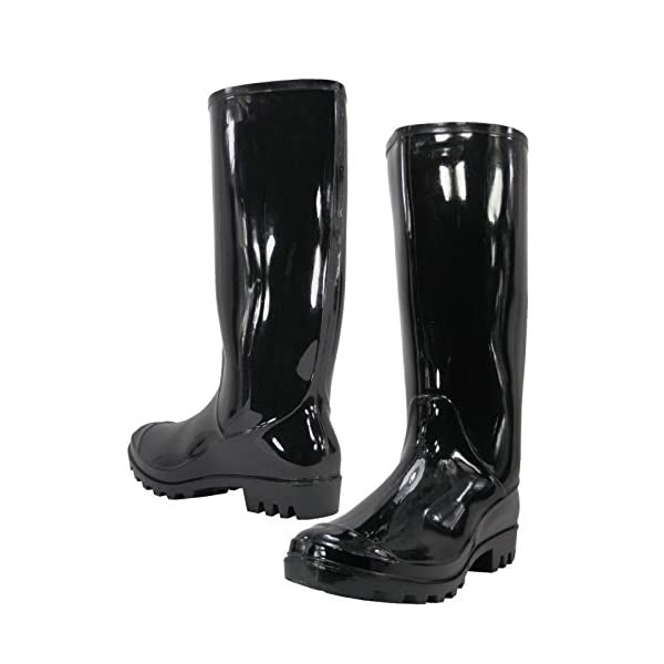 Women Rain Boots Stylish Waterproof Rubber Boots for Ladies 1