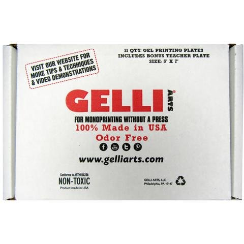 Gelli Arts Gel Printing Plate 8x10'' Class Pack by Gelli Arts®