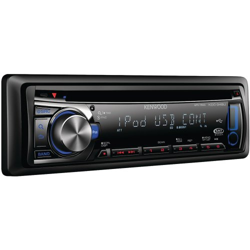 Kenwood KDC-348U In-Dash CD Receiver USB Input