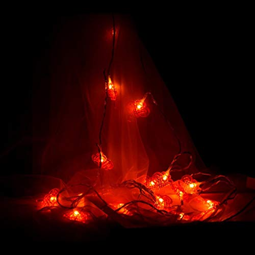 Window Delicate Decorative (H+K+L Small Lantern Light Chain Led Chinese Knot Battery Operated Hanging Light Room Decorative Light (Multicolor, B))