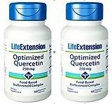 Life Extension Optimized Quercetin, 60 Capsules (2 Pack)