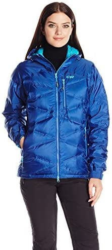 Outdoor Research Floodlight Jacket Baltic/Typhoon Large [並行輸入品]