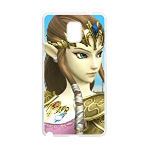 Samsung Galaxy Note 4 Cell Phone Case White Super Smash Bros Princess Zelda R7R3PV